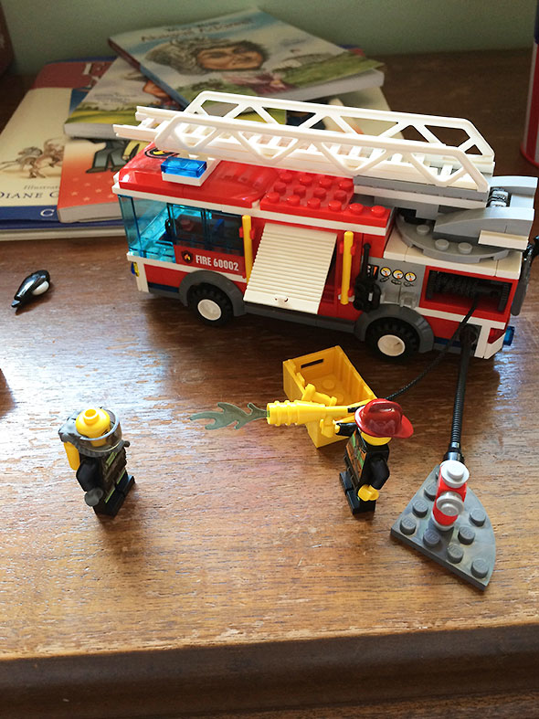 Fire Crew ready for action