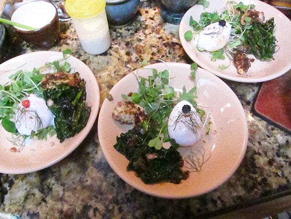 prepped plates