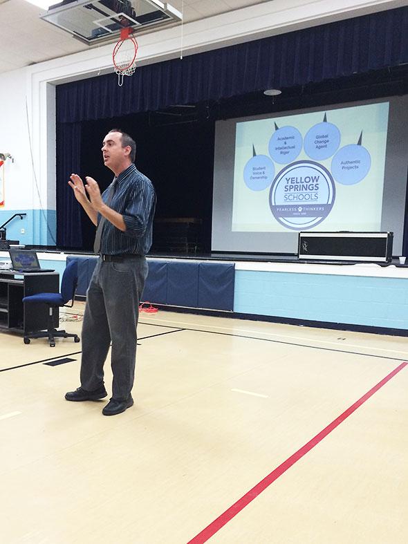 Principal Housh explains Project Based Learning