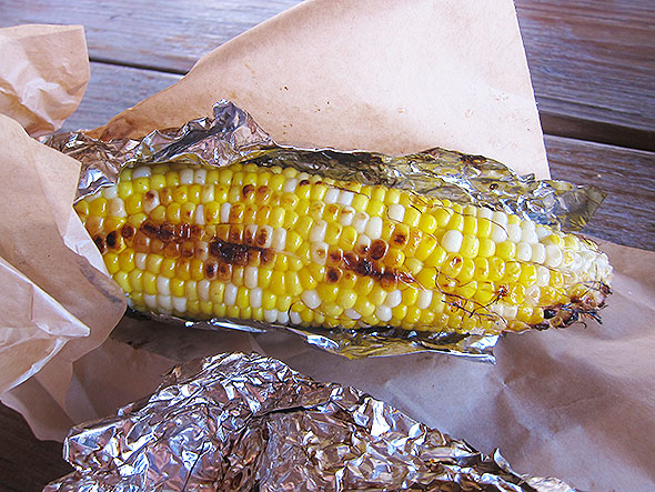 grilled corn by La Pampa