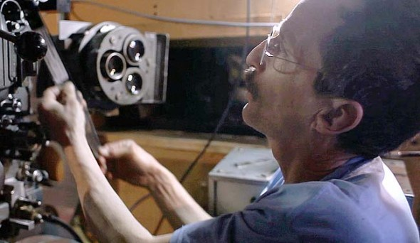 The documentary short 'The Last Reel,' by local filmmakers Steve Bognar and Julia Reichert, recently premiered at the Telluride Film Festival. The film chronicles the transition from 35 mm film to a digital process at The Little Art Theatre, and features longime projectionist Andy Holyoke, above. (submitted photo)