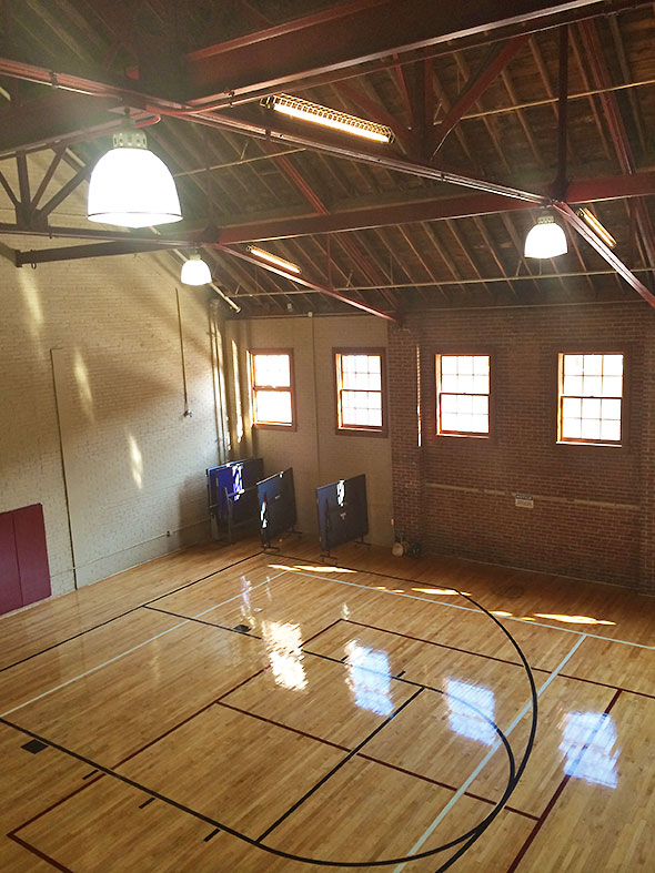 second floor court
