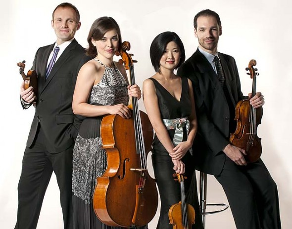 On Sunday, Oct. 5 at 7:30 p.m., the Jasper String Quartet will play a concert of chamber music at the First Presbyterian Church. (Submitted photo)