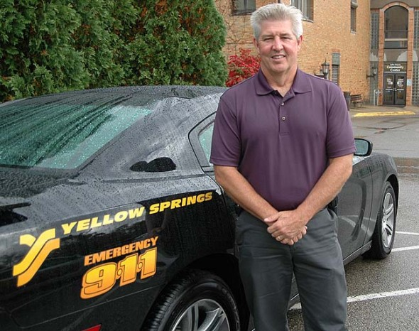 Dave Hale is the Interim Yellow Springs Police Chief who succeeded Anthony Pettiford last week and expects to be replaced by a permanent chief sometime in November. (Photo by Lauren Heaton)
