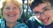 "Yellow Springs resident Debra Williamson, here with her son Alex Oliver, is organizing a conference on the issues facing those with mental and physical disabilities. ""Valuing Diversity: A Day of Disability Awareness and Education"" is Friday, Dec. 5, at Antioch University Midwest. (Submitted photo)"