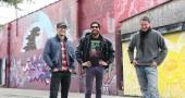 Travis Tarbox Hotaling, Zane Reichert and Pierre Nagley in Kieth's Ally.