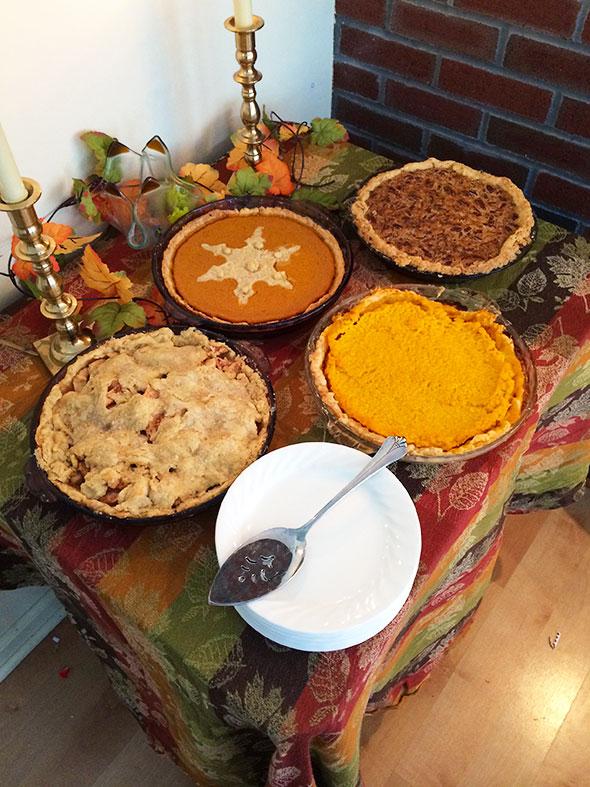 loaded pie table