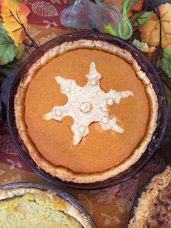 pretend Pumpkin Pie