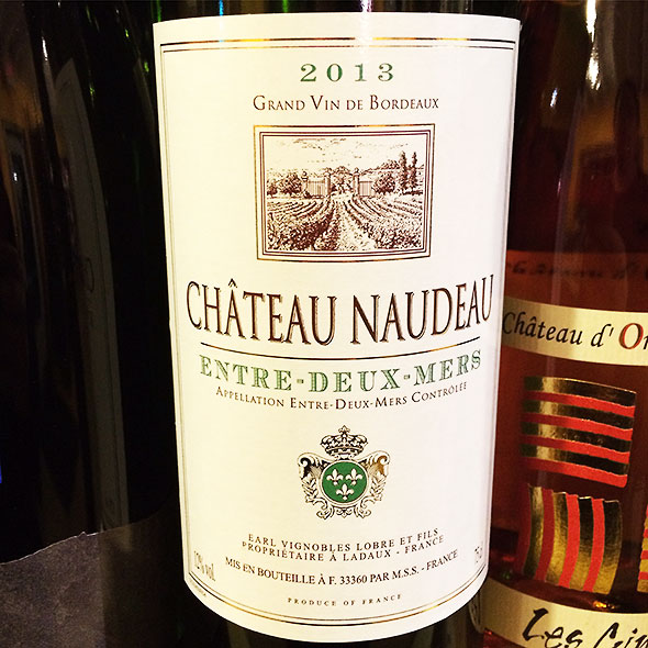 White Bordeaux featured this month at the Winds Cafe