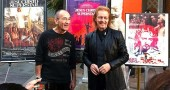 "Stars of ""Jesus Christ Superstar,"" Barry Dennen and Ted Neeley, will visit Yellow Springs for screenings of the film March 27–29 at the Little Art Theatre where they will answer questions and sign autographs. Dennen, left, played Pontius Pilate in the 1973 film; Neeley was in the role of Jesus. (Submitted photo)"