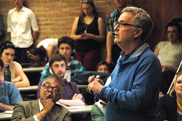 Antioch College President announced on Tuesday that he'll leave his job at the end of the year.