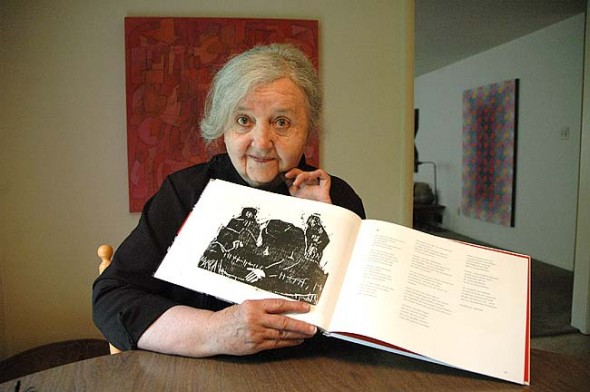 Luisa Owen will read her original poems in German on Friday, June 5, at the Epic Book Shop. (Photo by Diane Chiddister)