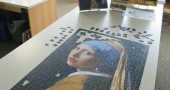 Girl With A Pearl Earring nears completion