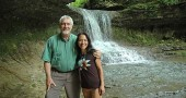 Yellow Springs resident Irene Bedard and Dayton resident Tom Bensman are working with the Miami Valley Council for Native Americans to host the first annual Five Rivers Chautauqua: Mending the Sacred Hoop June 19–28 at various sites in Dayton. For the full schedule of chautauqua events go to daytonpax.com/ fiveriverschautauqua and click on the blue bar. (Photo by Lauren Heaton)