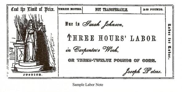 """LaborNote"". Licensed under Public Domain via Wikimedia Commons - http://commons.wikimedia.org/wiki/File:LaborNote.JPG#/media/File:LaborNote.JPG"
