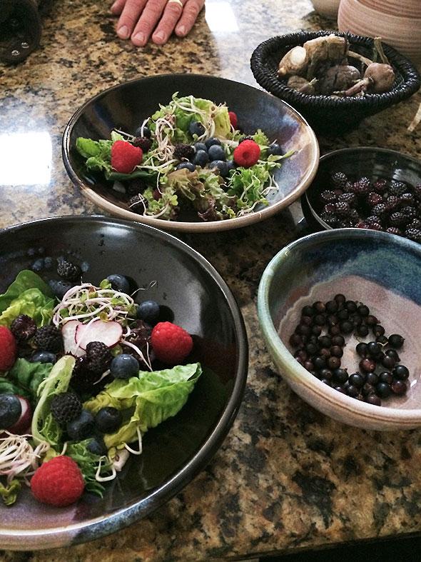 sweetened salads