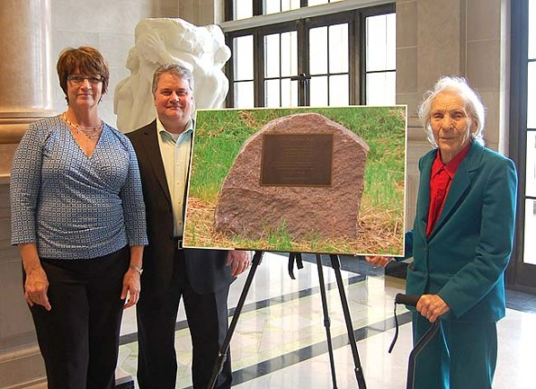 Last week, the Dayton Art Institute honored John and his contribution to the arts community by dedicating its new well as The Eastman Well. (Submitted photo)