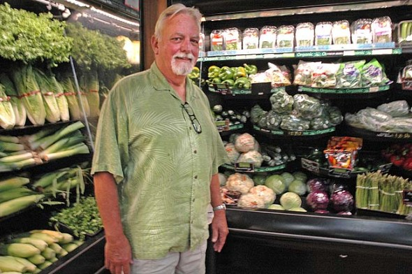 Tom Gray of Tom's Market celebrates 50 years with the store this Friday and Saturday, July 17 and 18, with free hot dogs from 11 a.m. to 2 p.m.