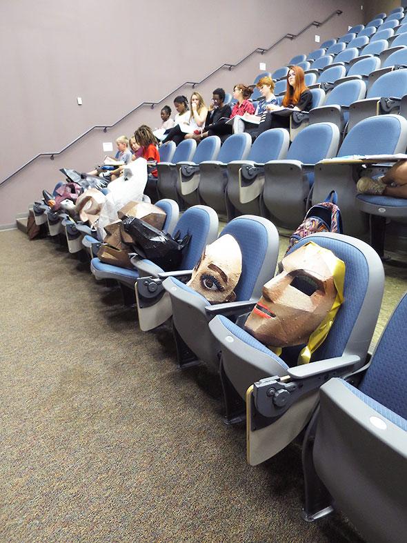 actors and masks