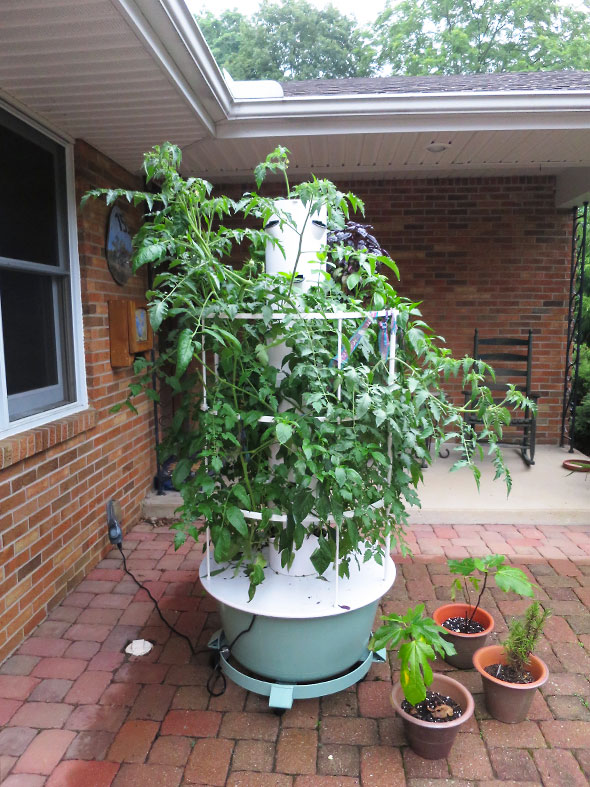vertical garden tower