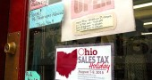 Ohio's S.B. 243 enacted a one-time sales tax holiday to occur only in 2015. The holiday starts on Friday, August 7, 2015 at 12:01 a.m. and ends on Sunday, August 9, 2015 at 11:59 p.m. (Photo by Matt Minde)