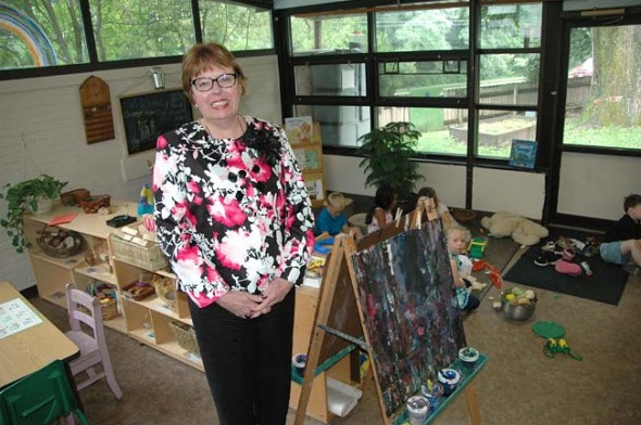 Last month the Community Children's Center hired Rebecca Lowry of Beavercreek as the new executive director. She has 37 years experience teaching and leading in public schools and will pursue a master's in business while serving the Yellow Springs community. (Photo by Lauren Heaton)