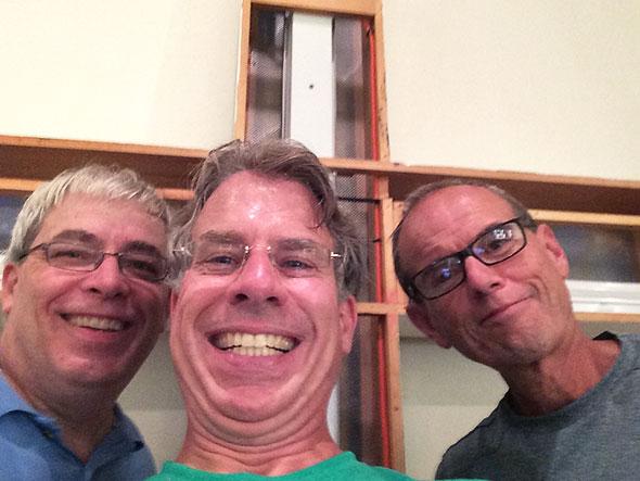 workcrew selfie