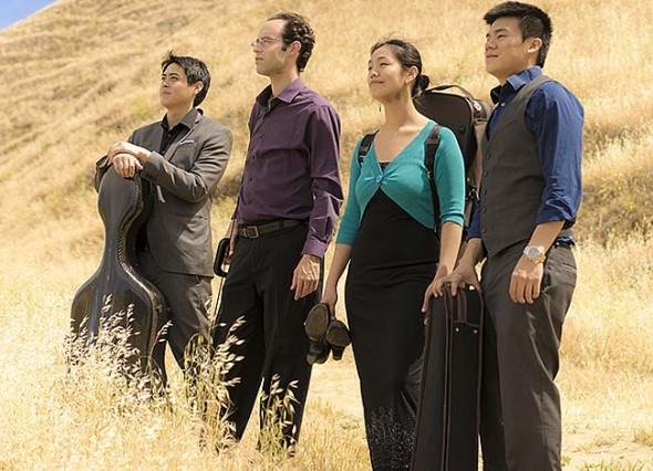The Telegraph String Quartet will open the 2015–16 Chamber Music in Yellow Springs season on Sunday, Sept. 27, 7:30 p.m., at the First Presbyterian Church. (Submitted photo)