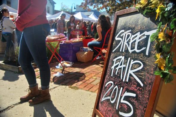 The 2015 Street Fair