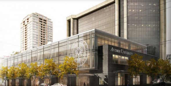Rendering of the new AU Seattle space currently under construction.