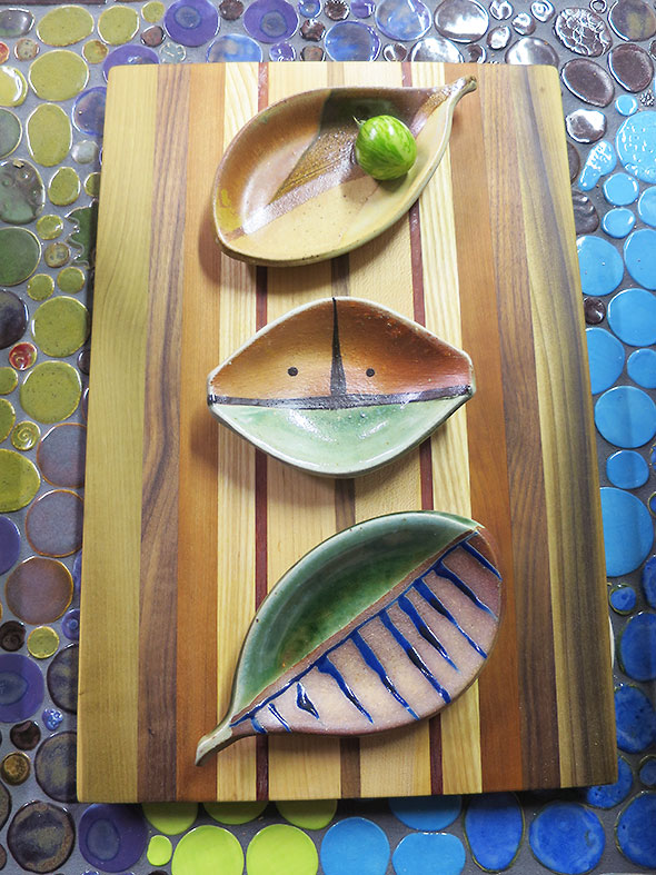 Dishes by Lisa Goldberg