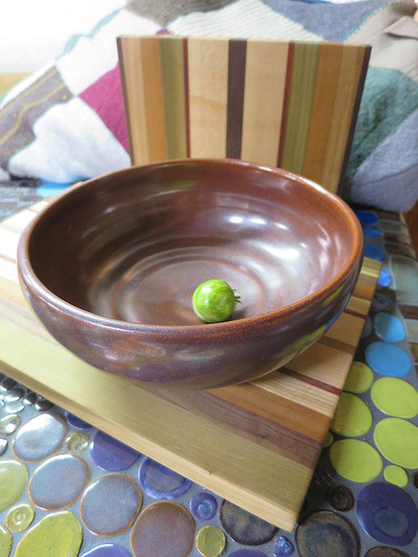 mixing bowl by Geno Luketic
