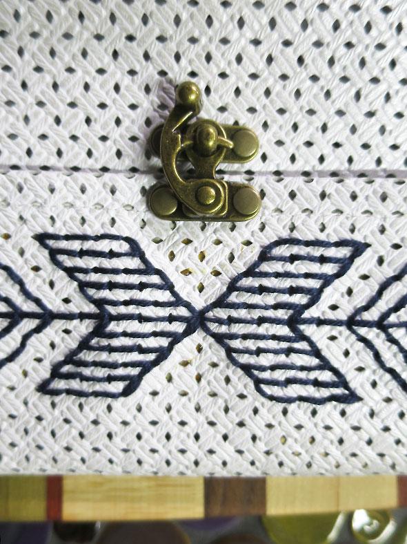 purse latch on handbag by Jodi Erickson Golling