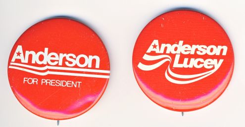 Remember him? Independent John Anderson nearly won the 1980 presidential election ... in my elementary school.