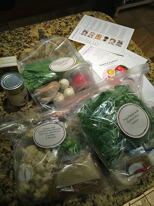 vegan meal kits