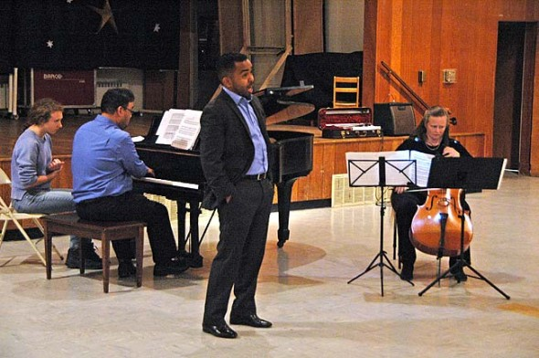 Former villager and Friends Music Camp staffer Martin Bakari will be one of the performer's at FMC's annual winter concert on Monday, Dec. 28 at 7:30 p.m. at the Foundry Theater on the Antioch campus.