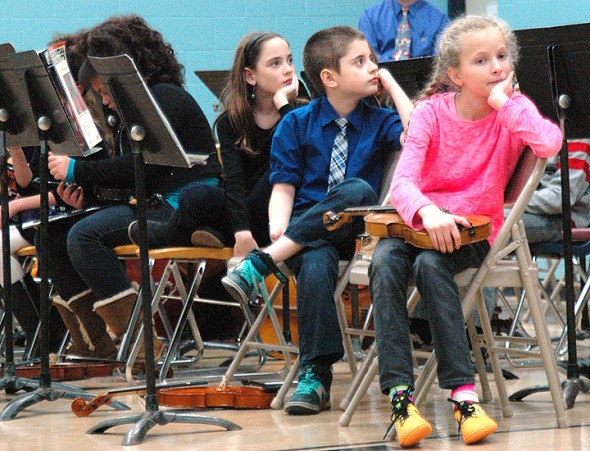 Good music and great listening at the Annual Mills Lawn School Winter Concert (Photos by Matt Minde)