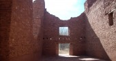 Quarai Mission Ruins, N.M. (Photo by Audrey Hackett)