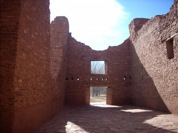Quarai Mission Ruins, N.M. (Photo by Audrey Hackett)