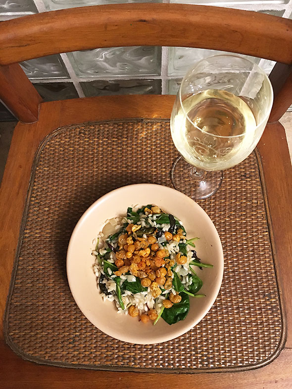 spinachRisotto