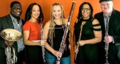 The Imani Winds will perform this Sunday, Feb. 21, at 7:30 p.m. at the First Presbyterian Church.