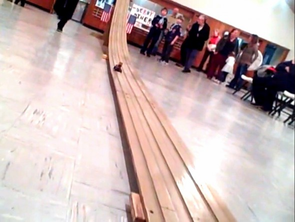 The Yellow Springs Cub Scout Pace 578 held its annual Pinewood Derby on Monday, Feb. 22.