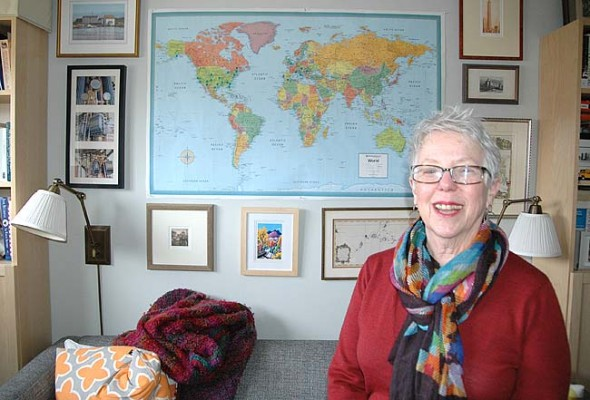 Villager and retired nonprofit director Toni Dosik recently launched a new business, Perfectly Planned Travel, offering customized vacations for villagers to Great Britain, France and Portugal. (Photo by Carol Simmons)