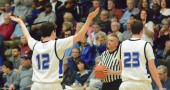Try as they might, the Boys Bulldogs lost ??-?? against Jackson Center Friday night. (Photo by Daniel Deaton)