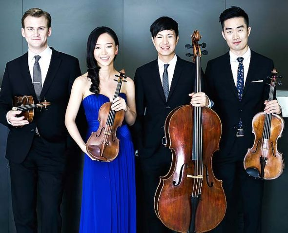 The Rolston ­Quartet won the 31st annual Competition for Emerging Professional Ensembles last spring, part of the ­Chamber Music Yellow Springs series. (Submitted photo)
