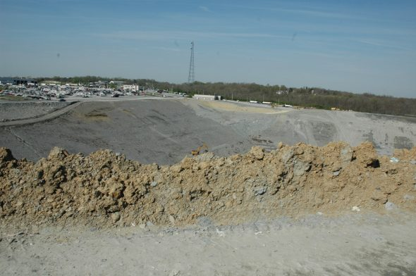 13 acres of future landfill