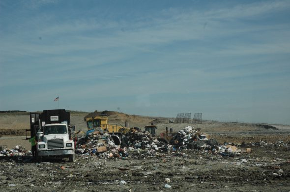 Just some piles of garbage