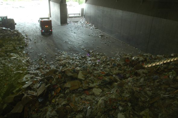 Recycling Center intake