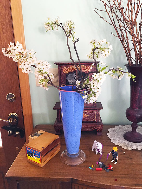 bouquet of downed blossoms