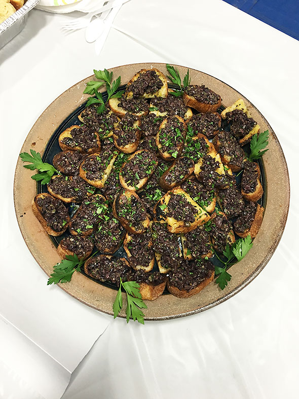 Olive Tapenade Toast